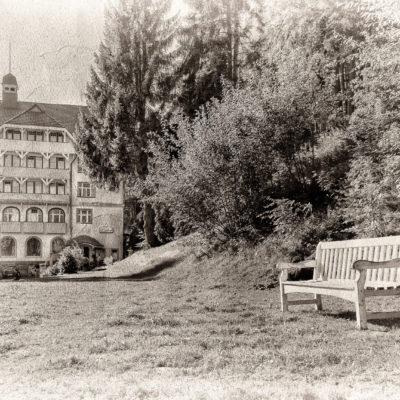 Lost Places – Hotel Waldlust (pictures from my grandfather…)
