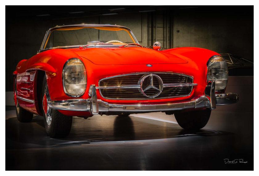 Workshop – Nachts alleine im Museum fotografieren im Mercedes-Benz Museum Stuttgart