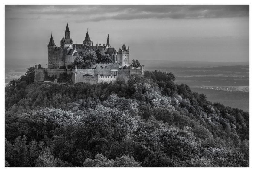 Hohenzollern in B&W