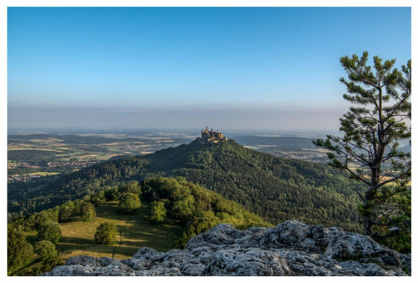 Hohenzollern Castle in the morning
