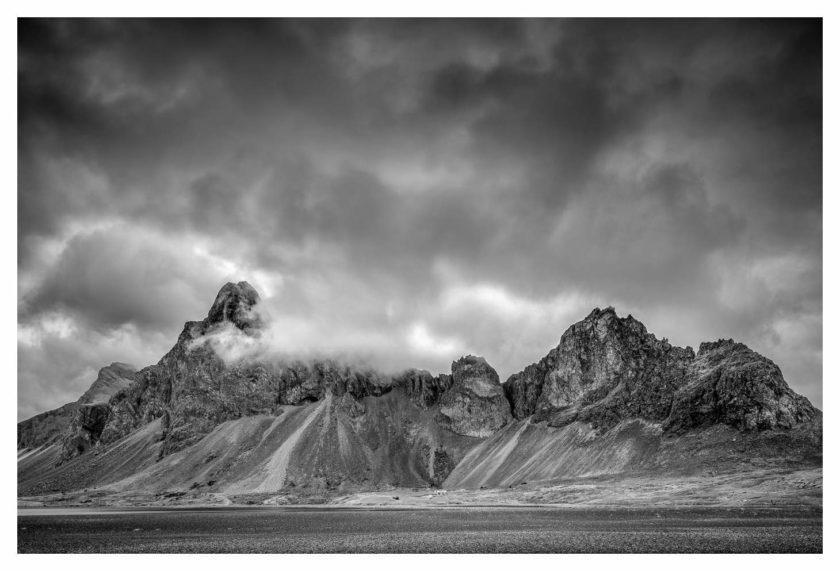 Iceland (B&W)