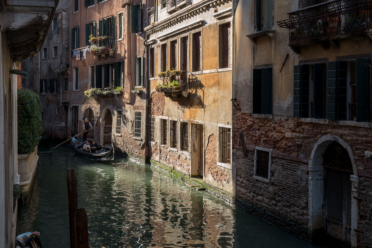 Impressions of Venice (colour) – March 2018